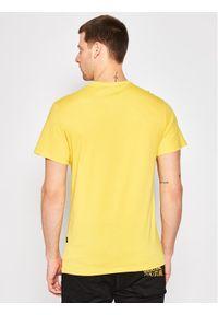 G-Star RAW - G-Star Raw T-Shirt Originals Logo Gr D16377-336-188 Żółty Regular Fit. Kolor: żółty