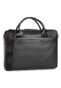 Czarna torba na laptopa Porsche Design