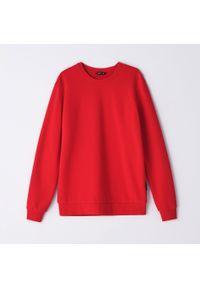 Cropp - Bluza basic - Czerwony. Kolor: czerwony