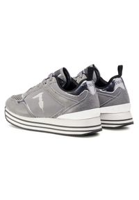 Szare buty sportowe Trussardi Jeans