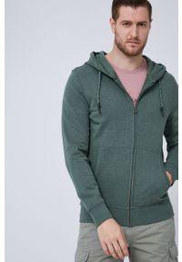 medicine - Medicine - Bluza bawełniana Essential. Okazja: na co dzień. Typ kołnierza: kaptur. Kolor: zielony. Materiał: bawełna. Styl: casual