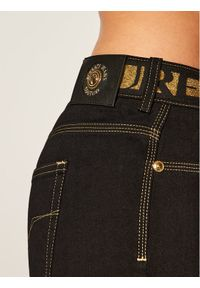Czarne jegginsy Versace Jeans Couture