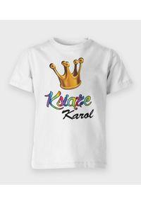 MegaKoszulki - Koszulka dziecięca Książę + Imię. Materiał: bawełna