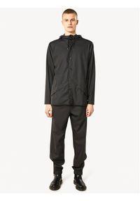 Rains Kurtka przeciwdeszczowa Unisex 1201 Czarny Regular Fit. Kolor: czarny