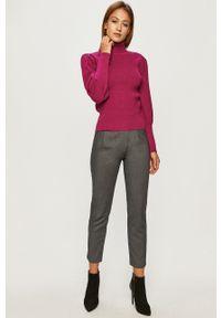 Silvian Heach - Spodnie. Stan: podwyższony. Kolor: szary