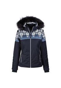 Kurtka narciarska damska CMP Presena 39W2076F. Materiał: jersey, lycra, materiał, futro, syntetyk, poliester. Sezon: zima. Sport: narciarstwo