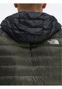 Zielona kurtka puchowa The North Face