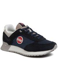 Colmar - Sneakersy COLMAR - Travis Colors 017 Navy/Lt Gray. Okazja: na co dzień. Kolor: niebieski. Materiał: zamsz, skóra ekologiczna, materiał. Szerokość cholewki: normalna. Styl: casual, elegancki