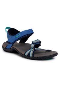 Niebieskie sandały Teva casualowe, na co dzień