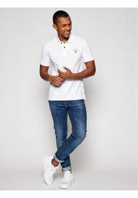 Biała koszulka polo Napapijri polo