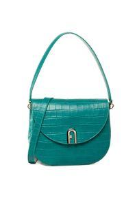 Zielona torebka klasyczna Furla klasyczna