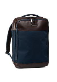 Niebieska torba na laptopa Gino Rossi