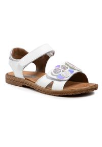 Białe sandały Imac
