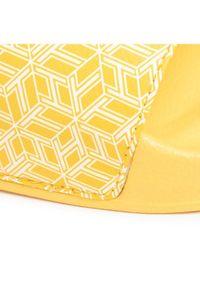 Żółte klapki TOMMY HILFIGER