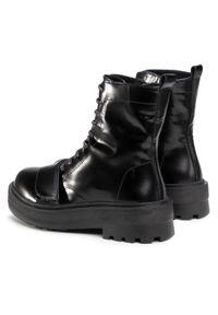 Czarne buty trekkingowe Sergio Bardi