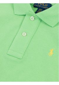 Zielony t-shirt polo Polo Ralph Lauren polo