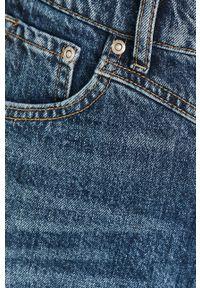 Pepe Jeans - Szorty jeansowe Rachel. Okazja: na co dzień. Stan: podwyższony. Kolor: niebieski. Materiał: denim. Styl: casual