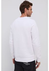 Peak Performance - Bluza. Okazja: na co dzień. Kolor: biały. Materiał: bawełna, dzianina. Długość rękawa: raglanowy rękaw. Styl: casual