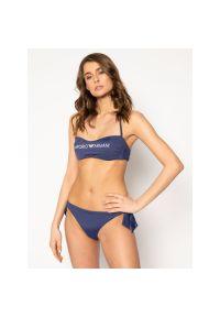 Niebieskie bikini Emporio Armani