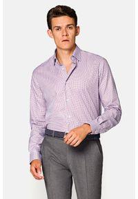 Lancerto - Koszula w Kratę Mila. Okazja: na co dzień. Materiał: bawełna, tkanina, jeans. Wzór: kratka. Styl: casual