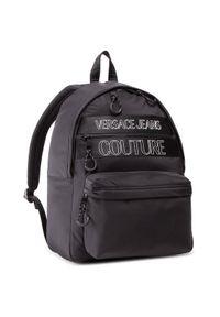 Versace Jeans Couture Plecak E1YWABA1 Czarny. Kolor: czarny