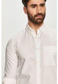Biała koszula Calvin Klein Jeans długa, button down