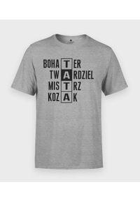 MegaKoszulki - Koszulka męska na dzień taty - Tata Twardziel 2. Materiał: bawełna