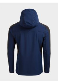 Niebieska kurtka outhorn ze stójką, na lato