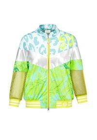 Sportalm - Bluza SPORTALM PALUMBO. Materiał: elastan, skóra, materiał. Wzór: motyw zwierzęcy