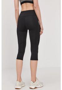 Czarne legginsy 4f melanż