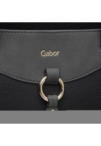 Czarna torebka klasyczna Gabor skórzana