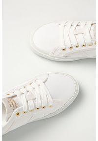 GANT - Gant - Tenisówki Pinestreet. Nosek buta: okrągły. Zapięcie: sznurówki. Kolor: biały. Materiał: guma