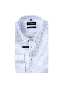 Koszula Giacomo Conti w geometryczne wzory, elegancka, z długim rękawem