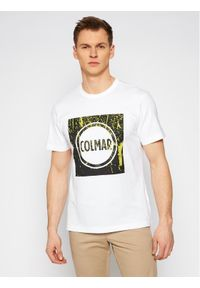 Colmar T-Shirt Frida 7591 6SH Biały Regular Fit. Kolor: biały