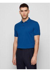 BOSS - Boss Polo Pallas 50425985 Niebieski Regular Fit. Typ kołnierza: polo. Kolor: niebieski