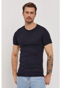 G-Star RAW - G-Star Raw - T-shirt (2-pack). Okazja: na co dzień. Materiał: bawełna, dzianina. Wzór: gładki. Styl: casual