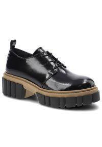 CheBello - Półbuty CHEBELLO 2769/SCB-355-000-PSK-S170 Lakier Czarny Mat.. Kolor: czarny. Materiał: lakier