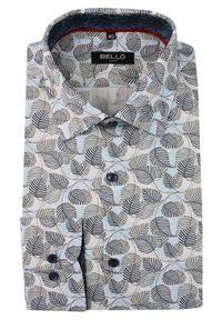Elegancka koszula Bello z długim rękawem, długa, do pracy