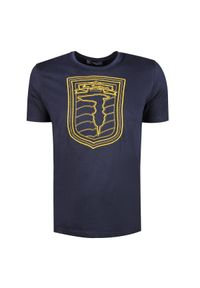 T-shirt Trussardi Jeans z nadrukiem, z okrągłym kołnierzem