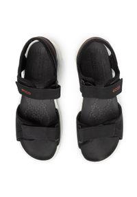 Czarne sandały trekkingowe ecco