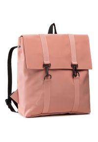 Różowy plecak Rains