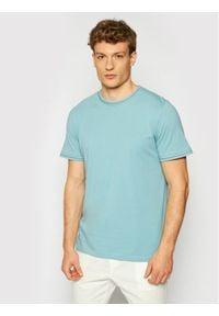 Jack&Jones PREMIUM T-Shirt Blalucas 12184760 Niebieski Regular Fit. Kolor: niebieski