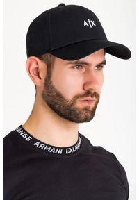 Nakrycie głowy Armani Exchange w kolorowe wzory