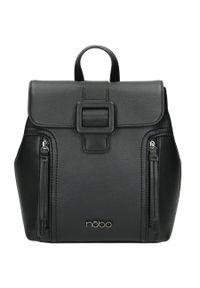 Nobo - Plecak damski szary NOBO NBAG-J5150-C020. Kolor: szary. Materiał: skóra ekologiczna