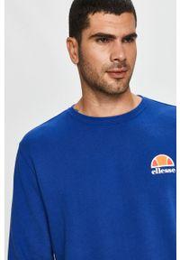 Niebieska bluza nierozpinana Ellesse bez kaptura, na co dzień