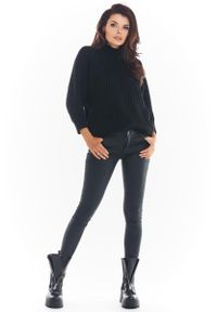Czarny sweter Awama