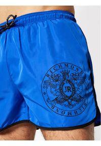 John Richmond Szorty kąpielowe Madley UMP21128CO Niebieski Regular Fit. Kolor: niebieski