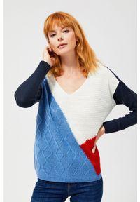 Sweter MOODO z długim rękawem, długi