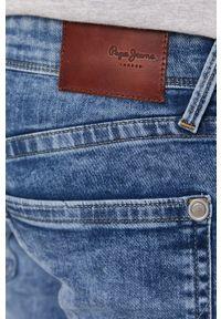 Pepe Jeans - Szorty jeansowe Hatch. Okazja: na co dzień. Kolor: niebieski. Styl: casual