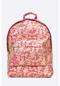 Pomarańczowy plecak Mi-Pac w paski